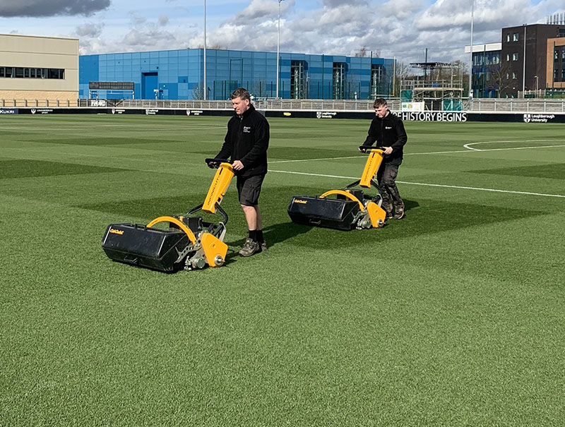 INFINICUT® mowers helping to reduce HAV for Loughborough University