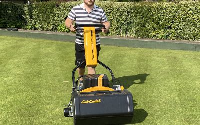 INFINICUT® & TMSystem™ combination prove the perfect match for Wantage Bowling Club