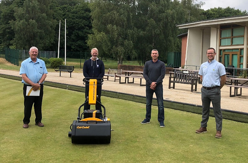INFINICUT® enables Richard Peel Groundcare to deliver on new bowls contract