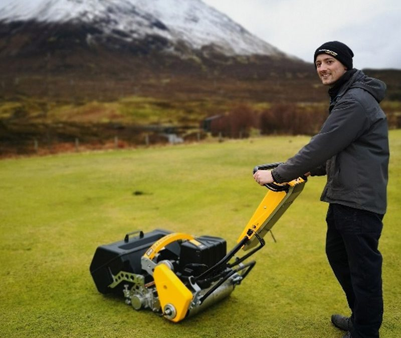 "22"" INFINICUT® ticks every box for Isle of Skye Golf Club"