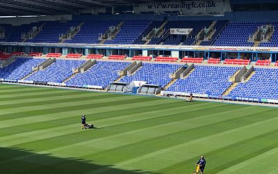 Trio of INFINICUT's® delivering both a greener and cleaner cut for Reading Football Club