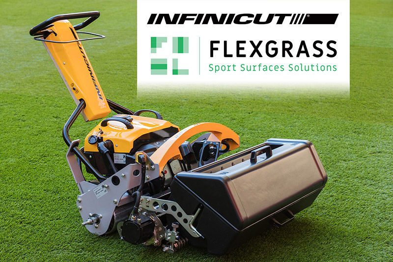 FLexGrass becomes new INFINICUT® distribution partner