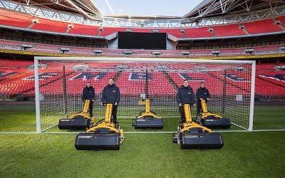 INFINICUT® fleet becomes the new way for Wembley