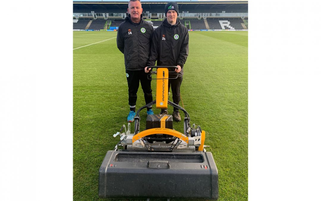 Forest Green Rovers extend partnership with INFINICUT® in the drive to eliminate petrol