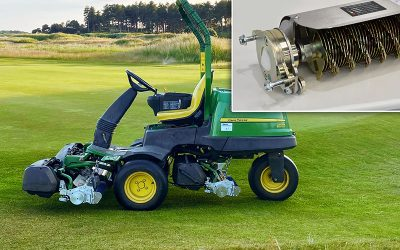 UltraGroomer™ cassettes satisfy players 'need for speed' at Hillside Golf Club